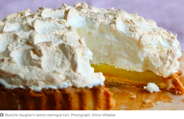 Lemon meringue tart Photo by Simon Wheeler